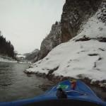 2010 - Dunajec v zime