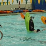 Trening eskimakov v bazene