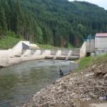 Ružbašská Míľava - MVE pred dokončením, neviem si predstavit ako by sa takýto zásah do rieky mohol spĺňať požiadavku o navrátení do pôvodného stavu...