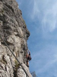 Adrenalin klettersteg, Vlado