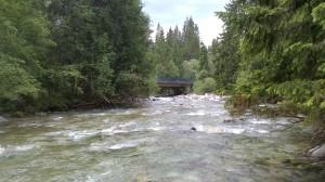 oficiálne nástupné miesto - most